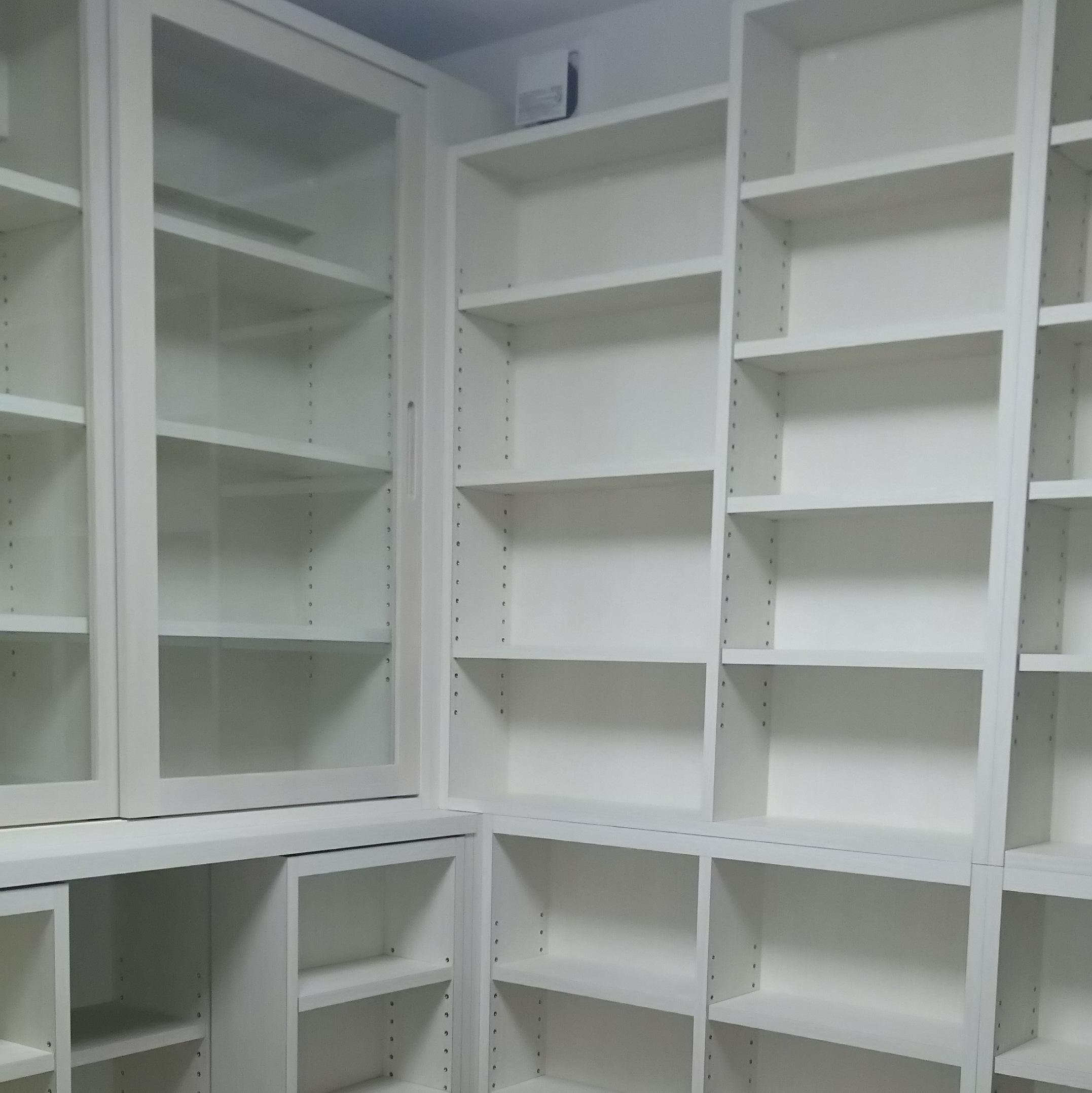 書棚ジョイント部分
