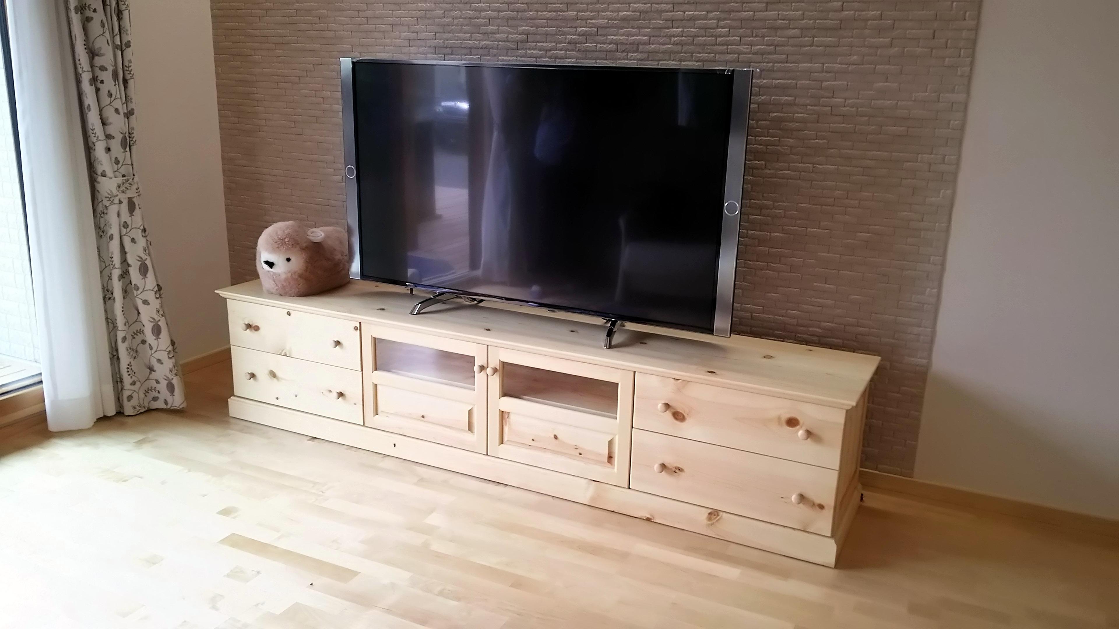 TVボード(パイン材)